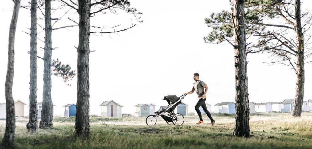 jogging med barnvagn